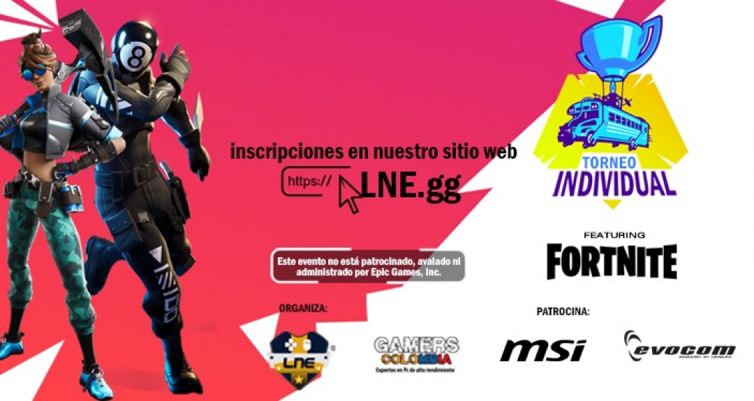 Torneo Fortnite Individual